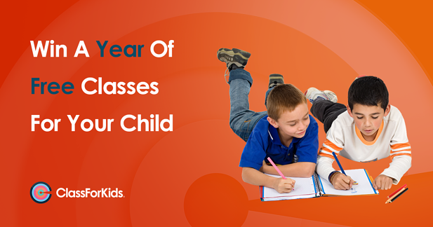Win a Year of Free Classes for Your Child!
