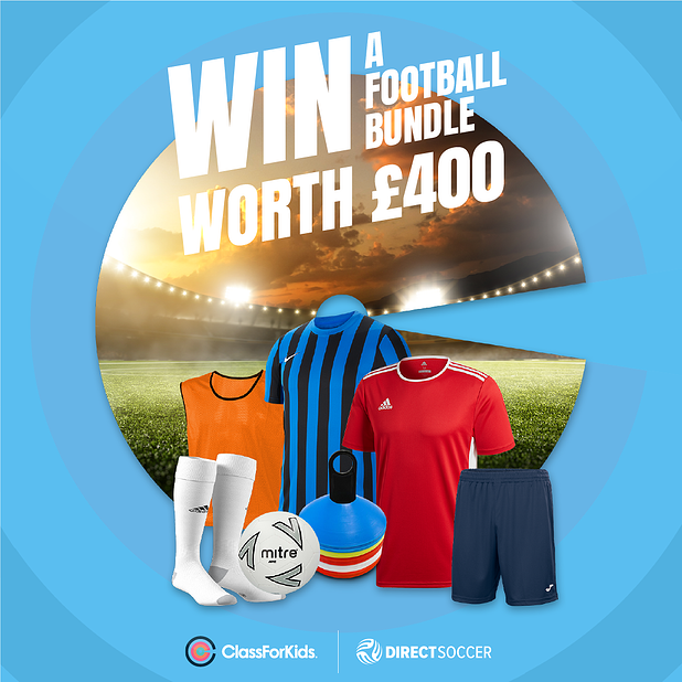 Win a £400 Football Bundle with Direct Soccer!