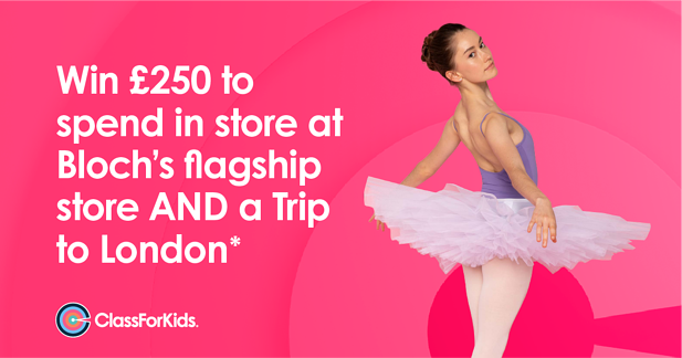 Win £250 to spend in store at Bloch's flagship store AND a Trip to London*