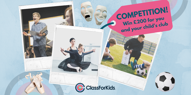 Parents, WIN £100 for you and £100 for your kid's Club!